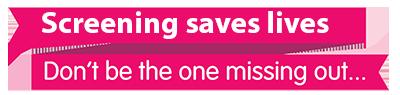 Screening Saves Lives Logo