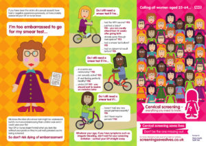 Cervical screening leaflet